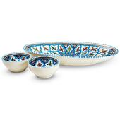 Dishes_Deco_Ovalen_Turquoise_Blue_Fine_Set_3_Delig1