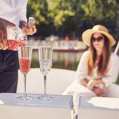 Cristal d'Arques champagneglas Rendez-Vous 17 cl sfeer