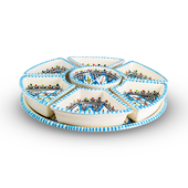 Dishes_Deco_Tapasschaal_Turquoise_Blue_Fine_8_Delig4