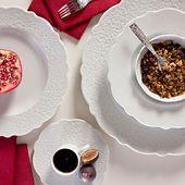 Alessi dessertschaaltje Dressed Ø 13 cm sfeer