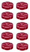 Bolsius geurchips Creations Berry Delight - 10 stuks