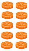 Bolsius geurchips Creations Juicy Orange - 10 stuks
