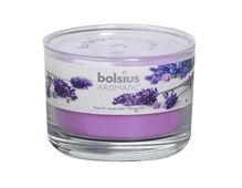 Bolsius geurkaars in glas Aromatic French Lavender 63/90 mm