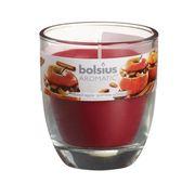 Bolsius geurkaars in glas Aromatic Baked Apple 80/70 mm