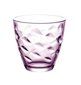 Bormioli Glazen Flora Roze