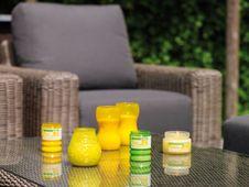 Bolsius kaars Party Light citronella geel sfeer
