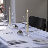 Bolsius tafelkaarsen Rustiek wijnrood - 16 stuks sfeer
