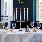Bolsius Gotische kaarsen ivoor - 12 stuks sfeer