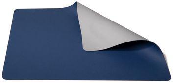 Jay Hill Placemat Leer Lichtgrijs Blauw