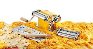 Pastaia Pastamachine set Imperia Sfeer