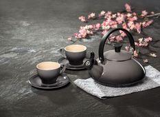 Le Creuset fluitketel Zen kersenrood 1.5 liter sfeer