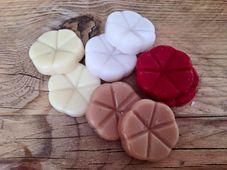 Bolsius geurchips Creations Velvet Rose - 10 stuks sfeer