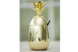 Cosy & Trendy Beker Ananas Goud