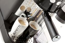 Boretti Espressomachine zwart