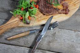 Laguiole Steakmessen Gemengd Hout 05