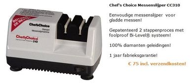 Messenslijper Chef Choice