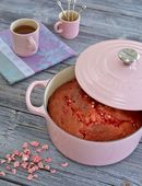 Le Creuset theemok roze 35 cl sfeer