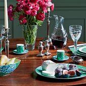 Wedgwood Jasper Conran Chinoiserie Green Espressoschotel