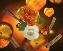 Lampe Berger navulling Amber Powder 1 liter sfeer