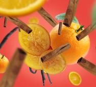 Lampe Berger navulling Orange Cinnamon 1 liter sfeer