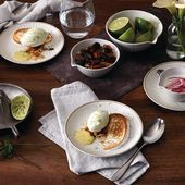 Royal Doulton Maze Grill 16 delige serviesset - wit