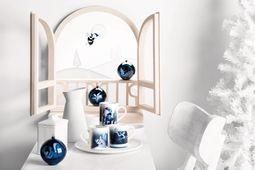 Alessi Kerstfiguur Blue Christmas Ballerina