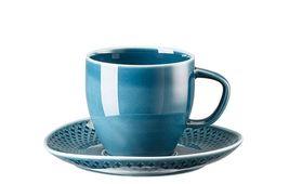Rosenthal Junto koffiekop en schotel - ocean blue