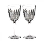 Waterford Lismore Diamond Rode wijnglas - set van 2