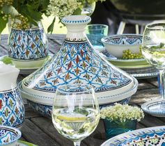 Dishes & Deco Turquoise Blue Fine