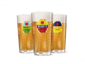 Vedett Beer Glasses