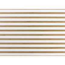 ASA Selection Placemat Bamboo/Wit 33 x 46 cm