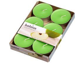 Bolsius maxi geurlichten Aromatic Green Apple - 6 stuks