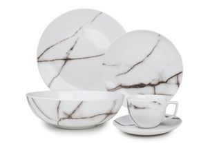 Salt & Pepper Serviesset Marble 20-Delig