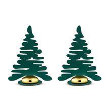 Alessi Kerstboom Set 2-delig Groen BM16S2/GR