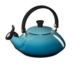 Le Creuset fluitketel Zen caribbean blauw 1.5 liter
