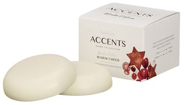 Bolsius Waxmelts Accents Warm Cheer - 3 Stuks