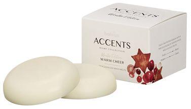 Bolsius Waxmelts Accents Warm Cheer - 10 Stuks