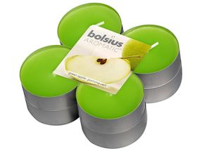 Bolsius maxi geurlichten Aromatic Green Apple - 8 stuks