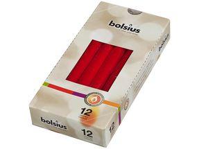 Bolsius Gotische kaarsen rood - 12 stuks