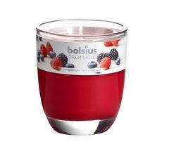 Bolsius geurkaars in glas Aromatic Berry Delight 80/70 mm