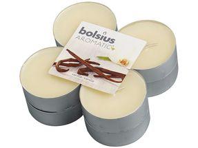 Bolsius maxi geurlichten Aromatic Vanilla - 8 stuks