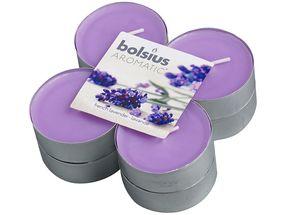 Bolsius maxi geurlichten Aromatic French Lavender - 8 stuks
