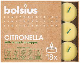 Bolsius Geurlichten Divine Earth Citronella - 18 Stuks