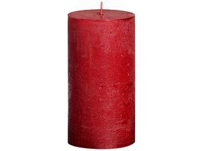 Bolsius stompkaars Metallic rood 130/68 mm