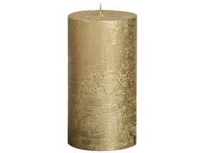 Bolsius stompkaars Metallic goud 130/68 mm