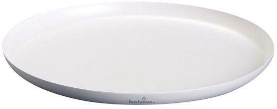 Bolsius onderzetter XL metaal wit Ø 37 cm