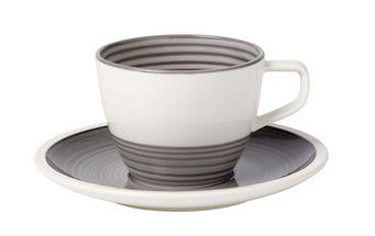 Villeroy Boch Koffiekop Met Schotel Manufacture Gris