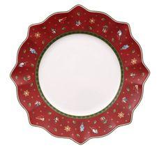 Villeroy & Boch Toy's Delight dinerbord ø 29cm - rood