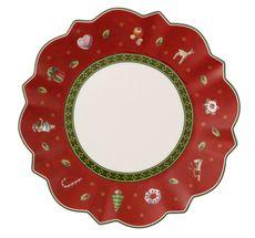 Villeroy & Boch Toy's Delight gebaksbordje  ø 17cm - rood