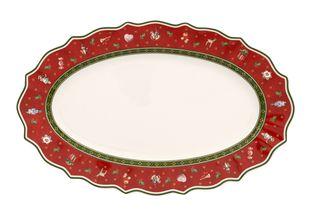 Villeroy & Boch Toy's Delight serveerschaal 38cm - rood